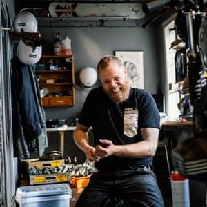 Lars of Bolt&Volt motorcycles
