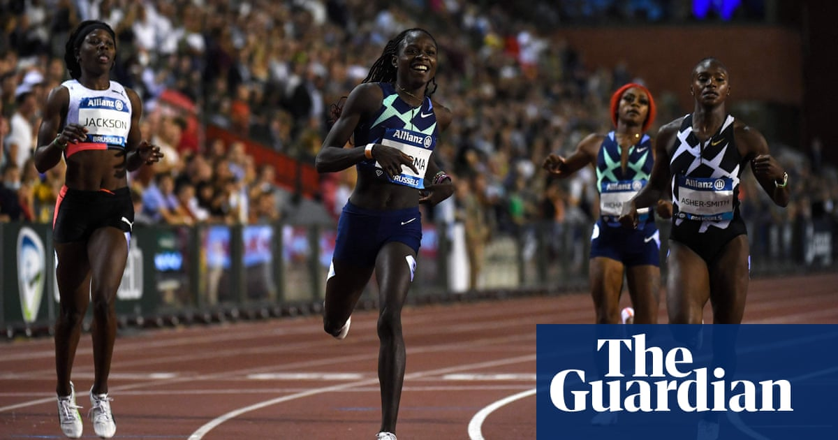 Asher-Smith delighted with season's best in Diamond League as Mboma wins
