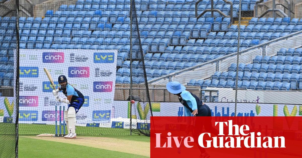 England v India: third Test, day one – live!