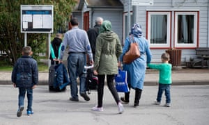 Refugees from Syria arrive at the Friedland shelter near Göttingen, Germany. Observers are closely following the progress of the pact.