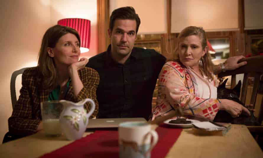 Horgan, Delaney and Carrie Fisher in Catastrophe