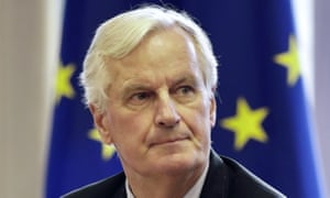 The European Union chief Brexit negotiator Michel Barnier.