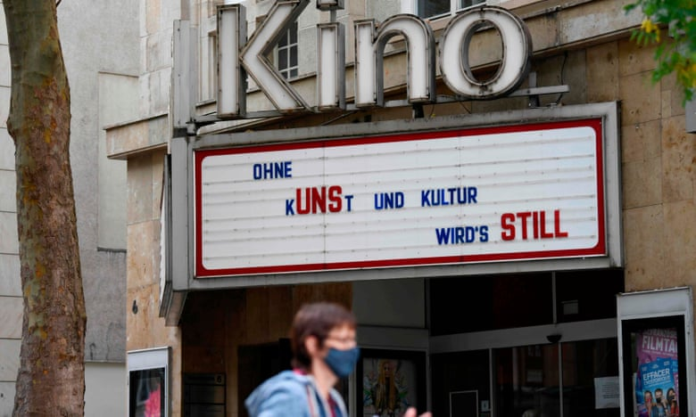 covided culture in a shut cinema?