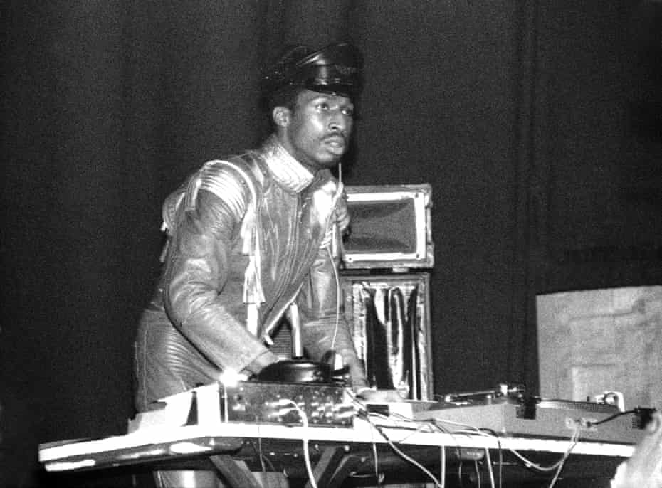 Grandmaster Flash circa 1980.