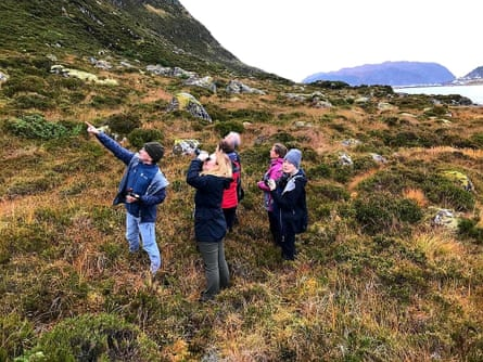 ERW Norway trip looking at white-tailed eagles.