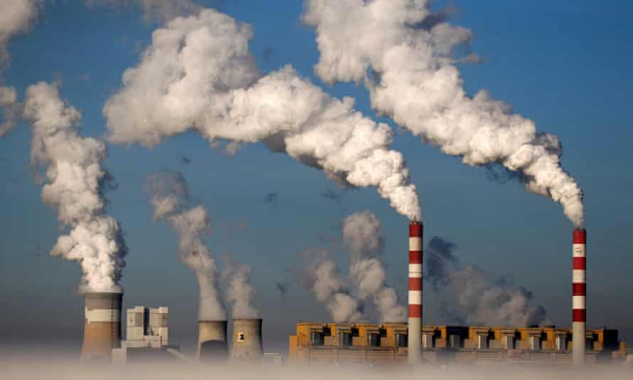 The Belchatow power station in Poland is Europe's largest coal-fired power plant.