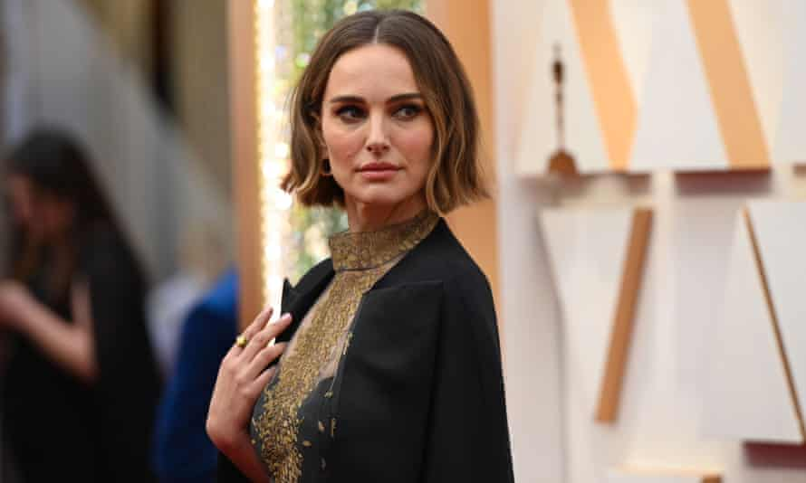 'I wanted to recognise the women who were not recognised for their incredible work this year in my subtle way' … Natalie Portman at the 92nd Academy Awards.