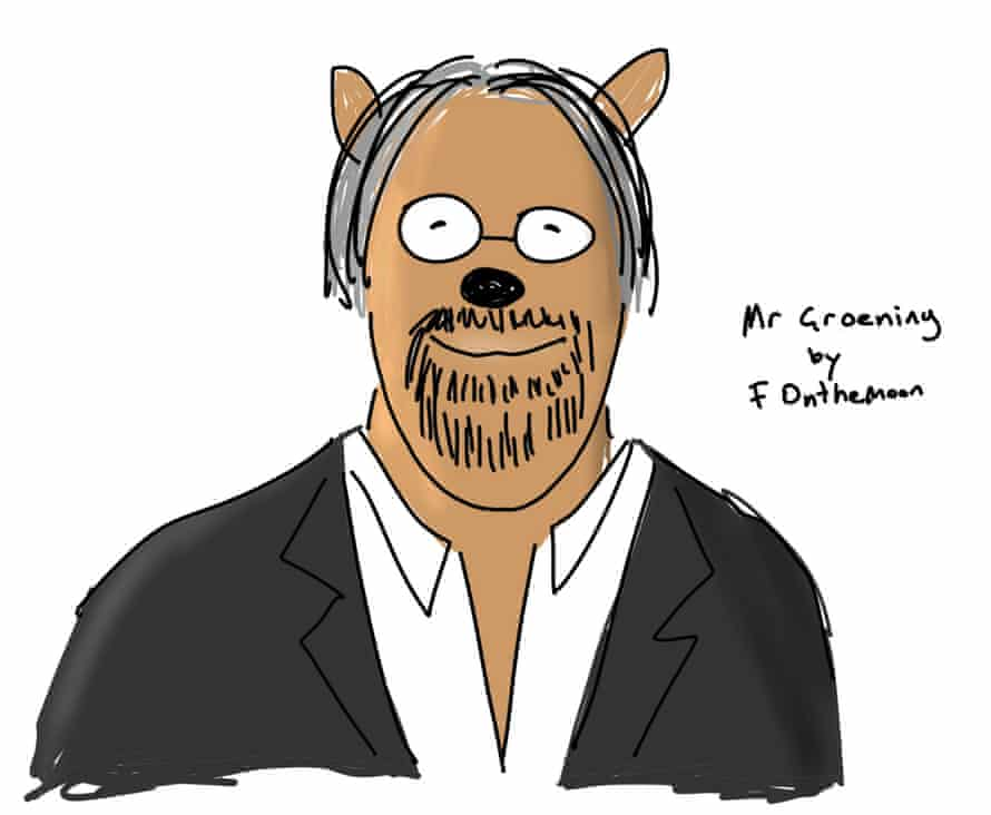 Matt Groening by First Dog on the Moon