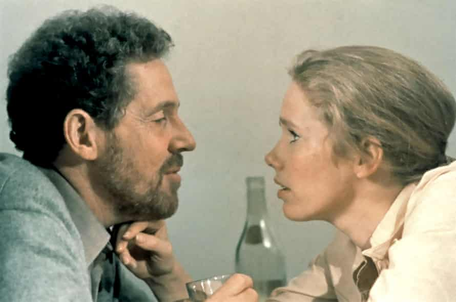 Liv Ullmann and Erland Josephson in Bergman's Scenes from a Marriage.