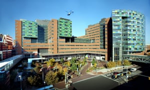Johns Hopkins is one of America's most prestigious research hospitals.