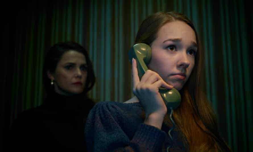 Scenes from a lie … Paige (Holly Taylor) is coming to terms with her parents' secret lives.