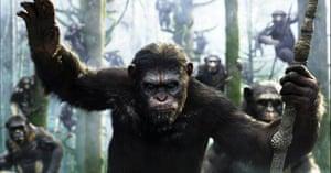 Apes … intelligent, warlike.