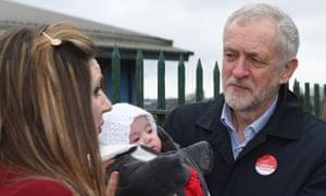 Jeremy Corbyn campaigns