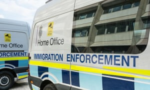 Home Office immigration enforcement vehicle