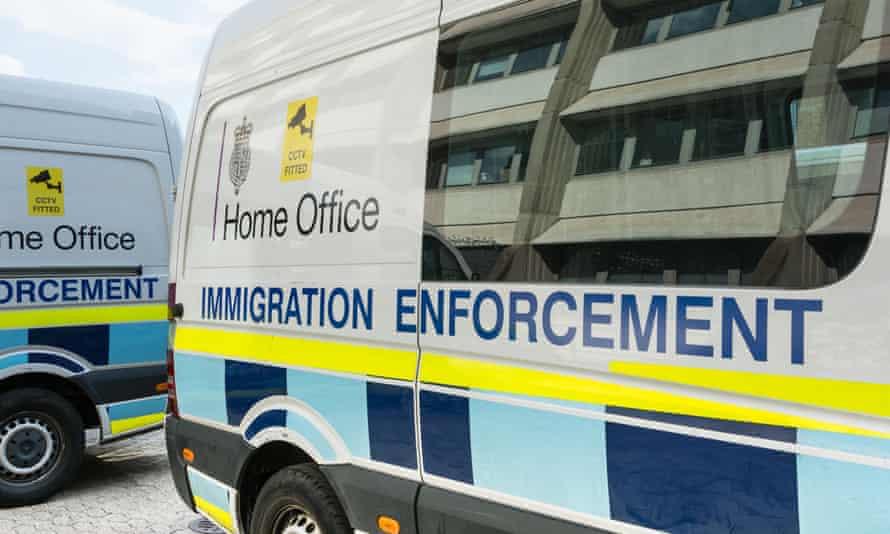 Home Office immigration enforcement vans
