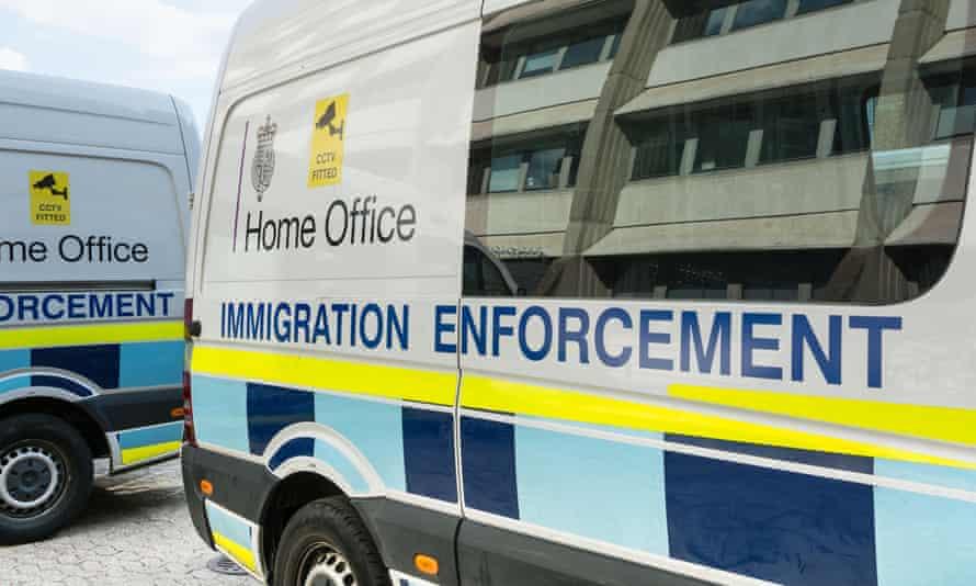 Home Office Immigration enforcement vehicles
