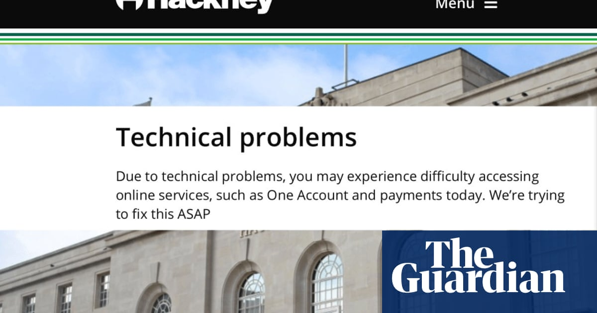 Hackney blames a cyber-attack for not issuing council tax refund