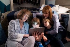 Scheming … Meryl Streep joins Nicole Kidman in Big Little Lies.