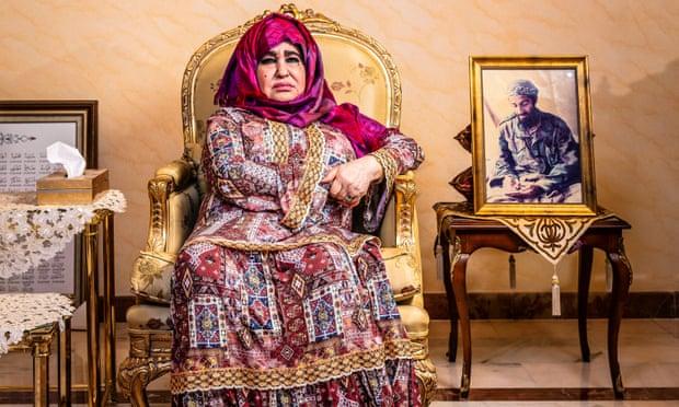 Alia Ghanem at home in Jeddah, Saudi Arabia.