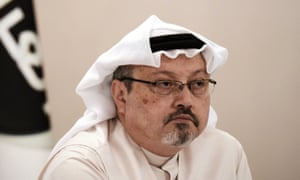 Jamal Khashoggi in December 2014, when he was working for Al Arab TV.