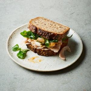 Dusty Knuckle's leftovers sandwiches: Turkey and quince aïoli
