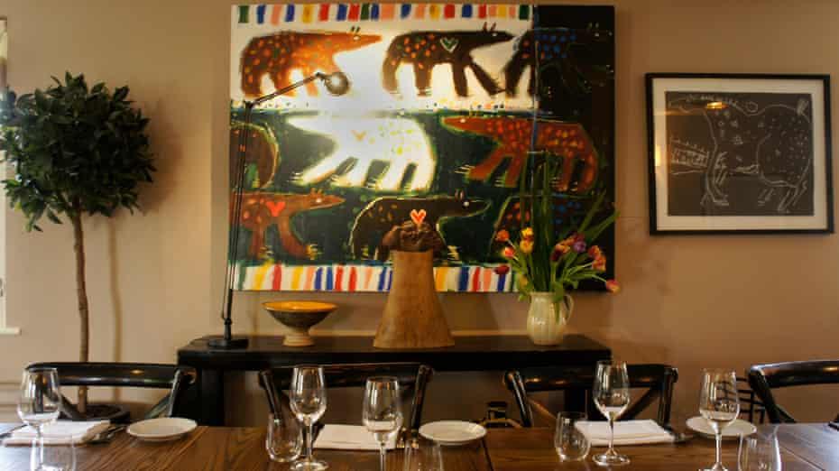 The Walnut Tree restaurant Abergavenny