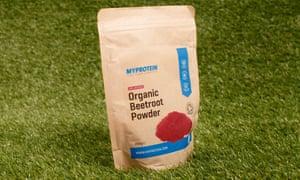 Myprotein Organic Beetroot powder.