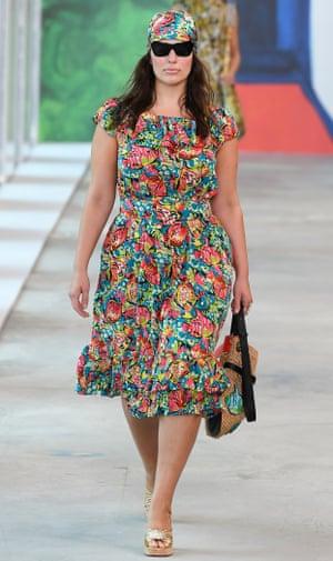 The model Ashley Graham.