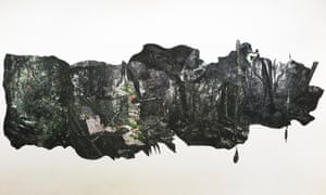 Caio Reisewitz Panambira, 2016, ink-jet print mounted on wall