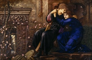"""Love Among the Ruins, 1894, Edward Burne-Jones (1833–1898), National Trust, Wightwick Manor"""