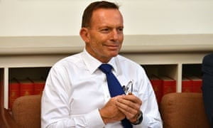 Tony Abbott asked a number of questions about the future of subsidies for renewable energy at a backbench committee meeting.