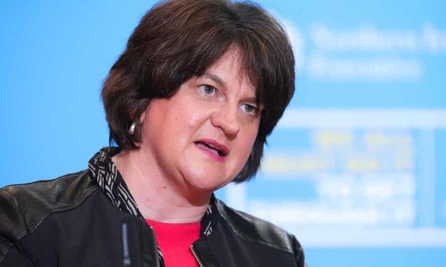 Arlene Foster order widespread closures in Northern Ireland.