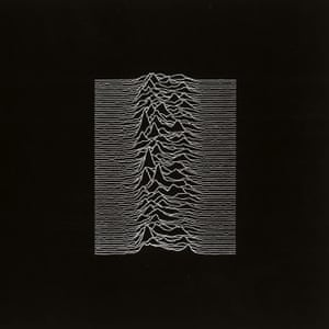 The cover art for Unknown Pleasures.