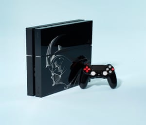 Star Wars PS4 console