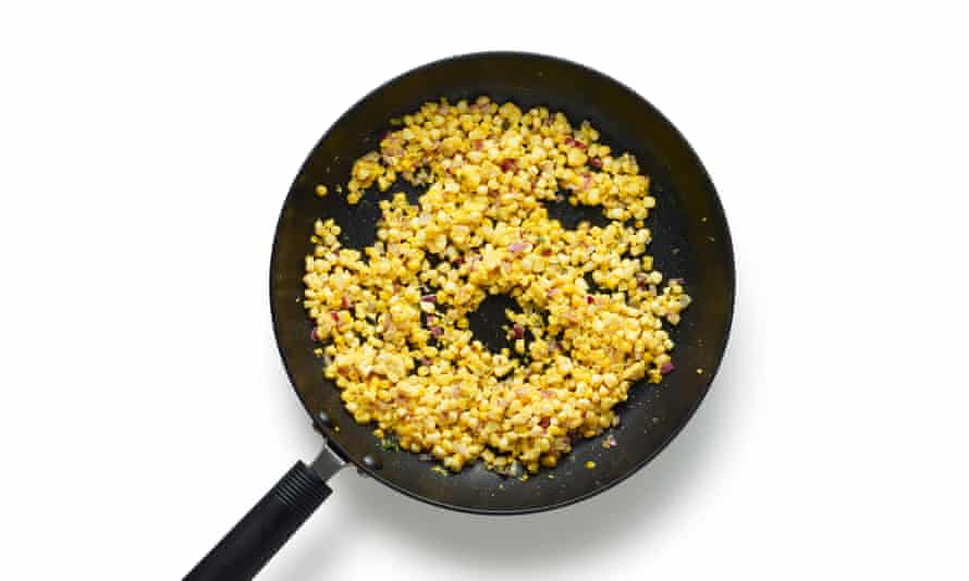 Felicity Cloake's perfect creamed corn 07