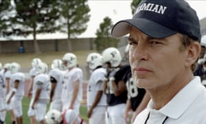 Peak performance … Billy Bob Thornton coaches in the 2004 film adaptation of Friday Night Lights.