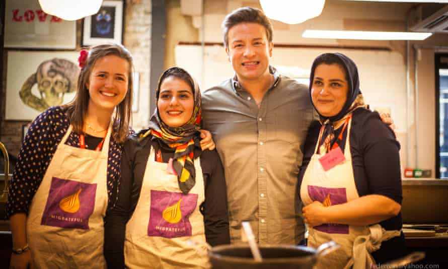 The charity's celebrity backers include Jamie Oliver.