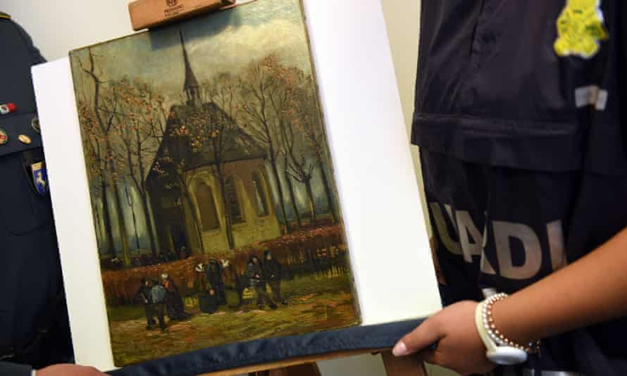One of the stolen Van Gogh paintings recovered near Naples
