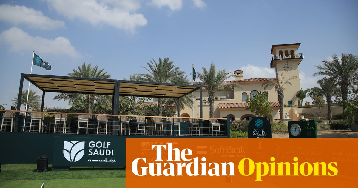 After football's revolt, where is the outcry over golf's Saudi-led breakaway?