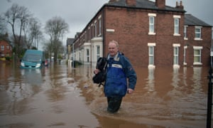 Flooding in Carlisle.