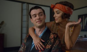 Lesson in love … Jack Whitehall and Eva Longoria's characters soon pair up in Decline and Fall.