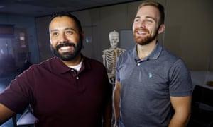 Ricardo Barranon, left, and Nathaniel Minigh