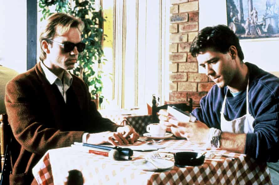 Hugo Weaving and Russell Crowe in 1991's Proof