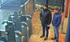 The two suspects in the Skripal poisoning