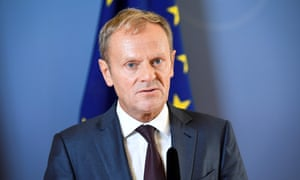 Donald Tusk, president of the European council, has criticised the UK government's stance on Brexit, telling MPs their complaint about the council has 'nothing to do with reality'