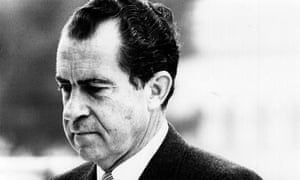 President Richard Nixon was pardoned by his successor, Gerald Ford, after the Watergate scandal.