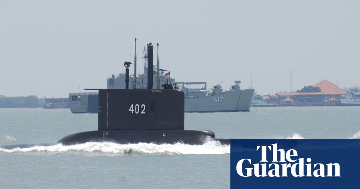 Indonesia continues search for missing submarine carrying 53 people