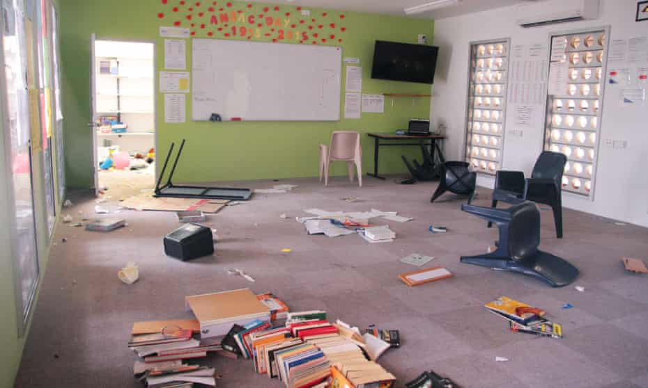 Inside the Don Dale juvenile detention facility.
