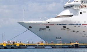 Ships like the Carnival Sensation will be used as collateral to raise money for the firm.