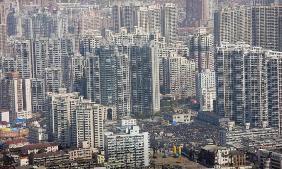 China's property market is slowing down, with the value of home sales down 20% in the past year.